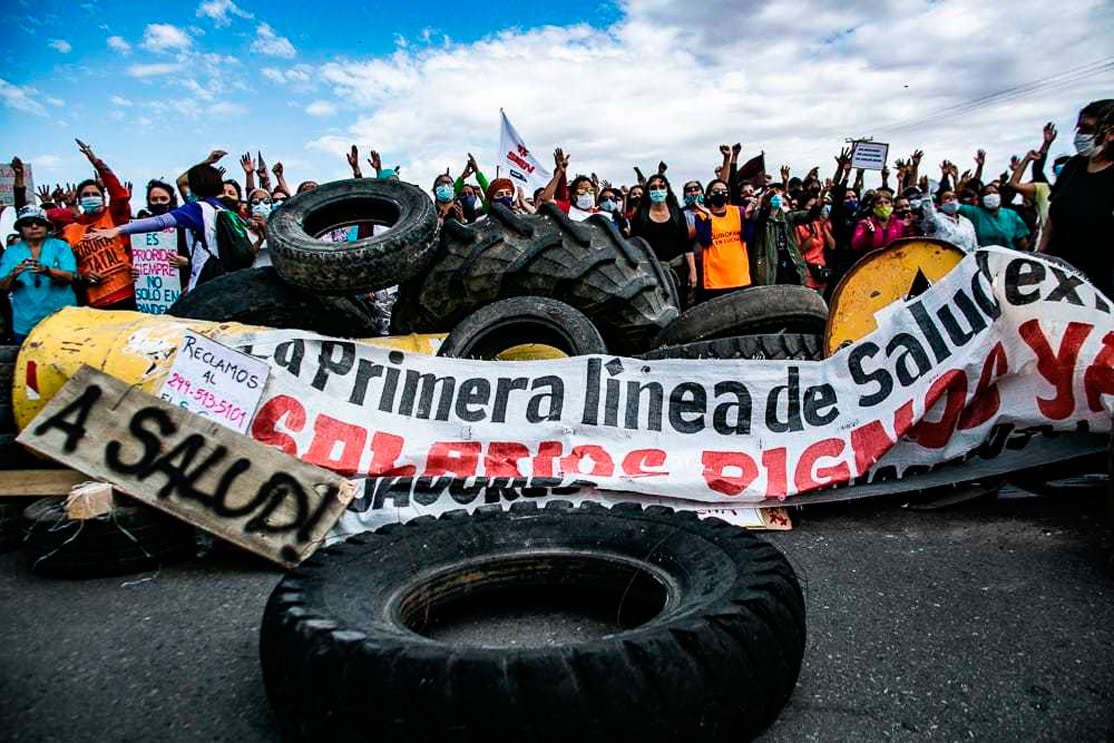 Trabajadores autoconvocados exigen la devolución de los días de paro en Neuquén
