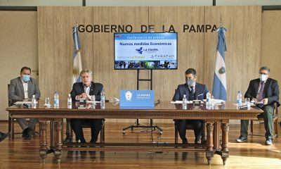 La Pampa firmó convenios para construir viviendas