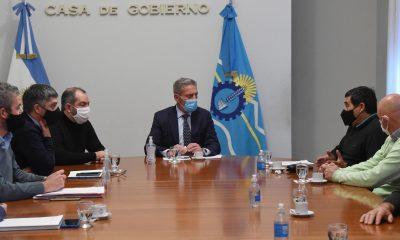 Arcioni se reunió con el directorio de la Compañía de Riego