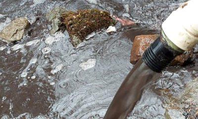 El Hoyo grave problemas con las redes de agua