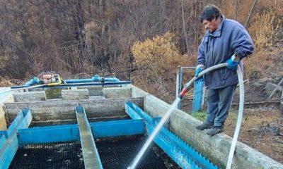 Decantador de agua en El Hoyo
