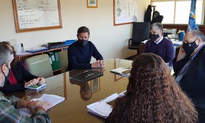 Reunión entre Provincia y el intendente de Puerto Pirámides
