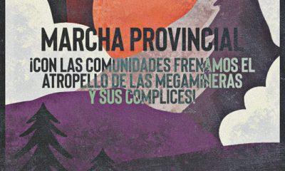 """Marcha provincial contra el """"atropello de las megaminerías"""""""