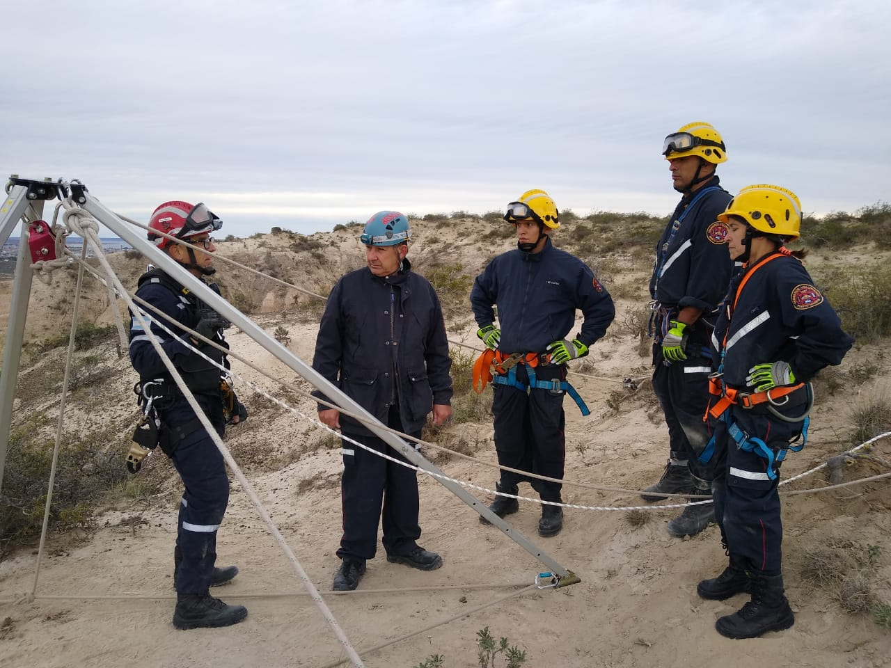 La Brigada de Cuerdas muy activa el fin de semana en Madryn