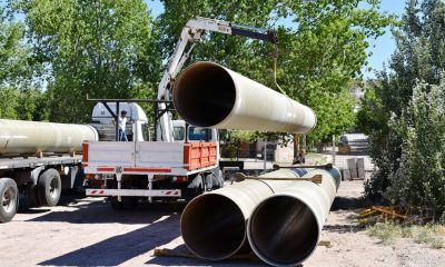 Neuquén avanza con las obras de agua y saneamiento por $2.500 millones