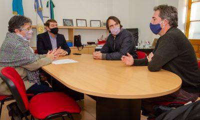 Biss firmó convenio con el CONICET