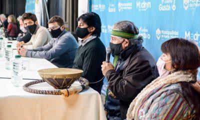 Restitución de restos óseos a las comunidades originarias de Madryn
