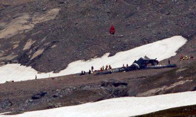 Dos accidentes aéreos Alpes suizos