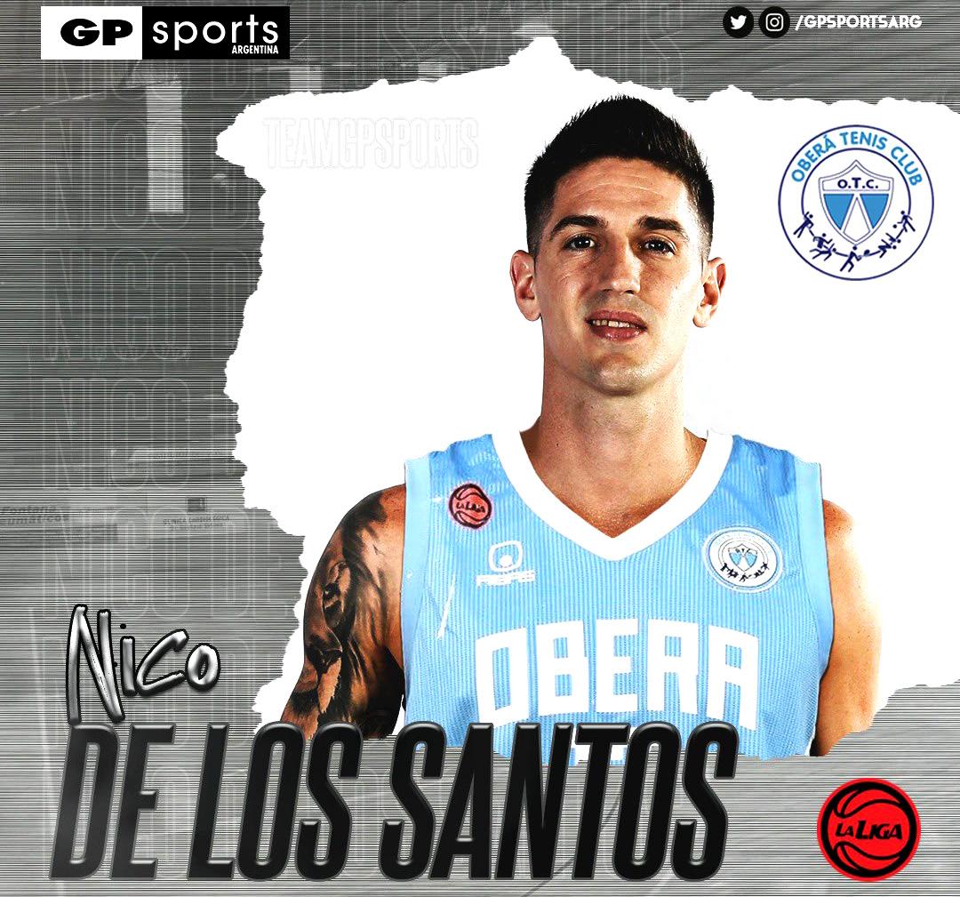 Nico de los Santos Oberá Tenis Club