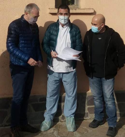 Nuevo director del Hospital de El Hoyo