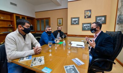 Maderna se reunió con el referente del STIA