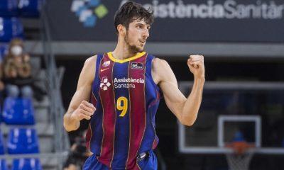 Leandro Bolmaro con el Barcelona ganó la primera semifinal