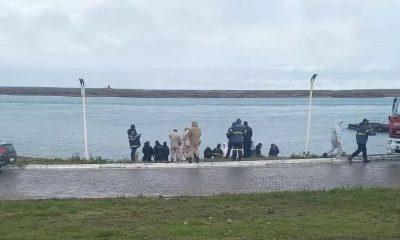 Cuerpo de una mujer en el mar de Puerto Deseado