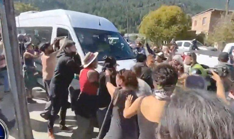 Ataque a la comitiva presidencial en Lago Puelo