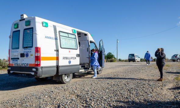 Rawson: vacunaron contra el coronavirus en el barrio ex IAC