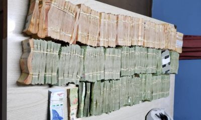 Secuestraron más 8 millones de pesos que tenían como destino Madryn