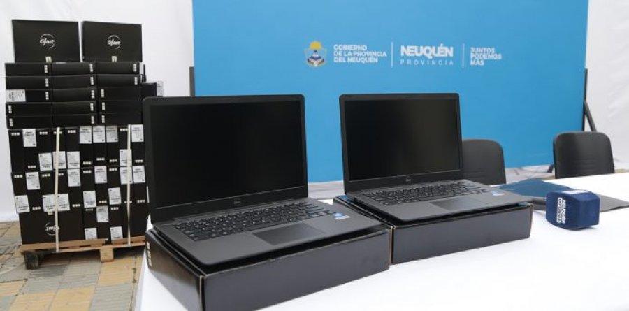 Neuquén entregará 1.000 notebooks a estudiantes en situación de vulnerabilidad