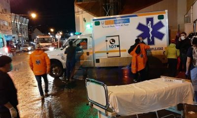 Un incendio se declaró en un hospital de Ushuaia