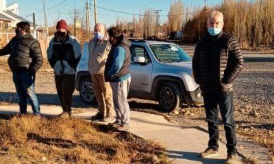 Trece familias de Alto Río Senguer accederán al servicio de gas natural