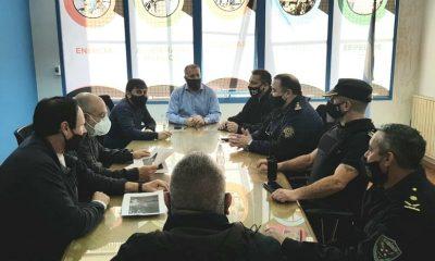 Cooperativa se reunió con Policía y la Municipalidad de Trelew
