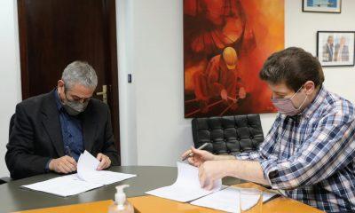 Firman acuerdos para construir 450 viviendas en Tierra del Fuego