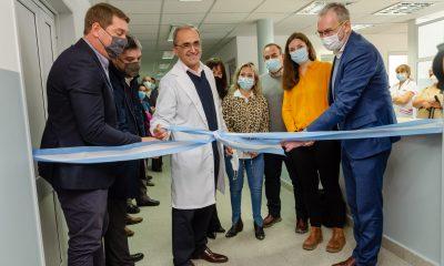 Nuevas salas de pediatría Hospital de Rawson