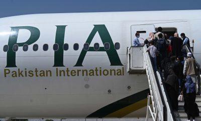 Kabul Afganistán avión comercial