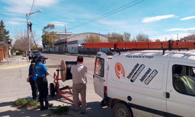 Conexión ilegal de internet en Trelew