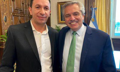 Maderna con el Presidente