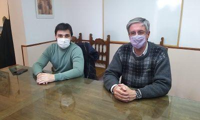 Nacho Torres y Sergio Ongarato