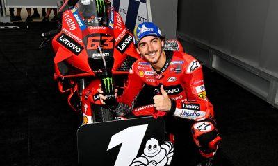 Peco Bagnaia pole Moto GP