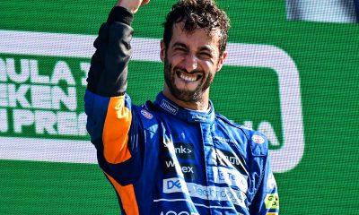 Ricciardo ganó el GP de Italia de Fórmula 1