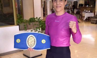 Soledad Matthysse campeona argentina pluma