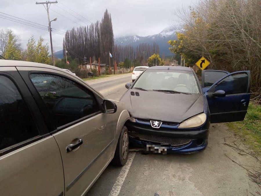Siniestro vial en Lago Puelo