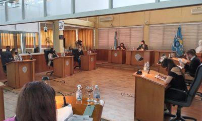 Sesión del Concejo Deliberante de Trelew