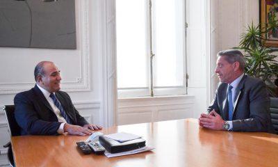 Mariano Arcioni con Juan Manzur