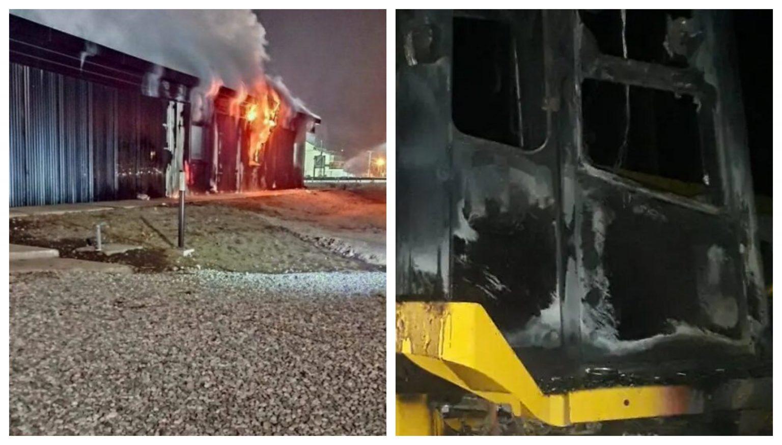 Incendios intencionales en El Bolsón y Bariloche