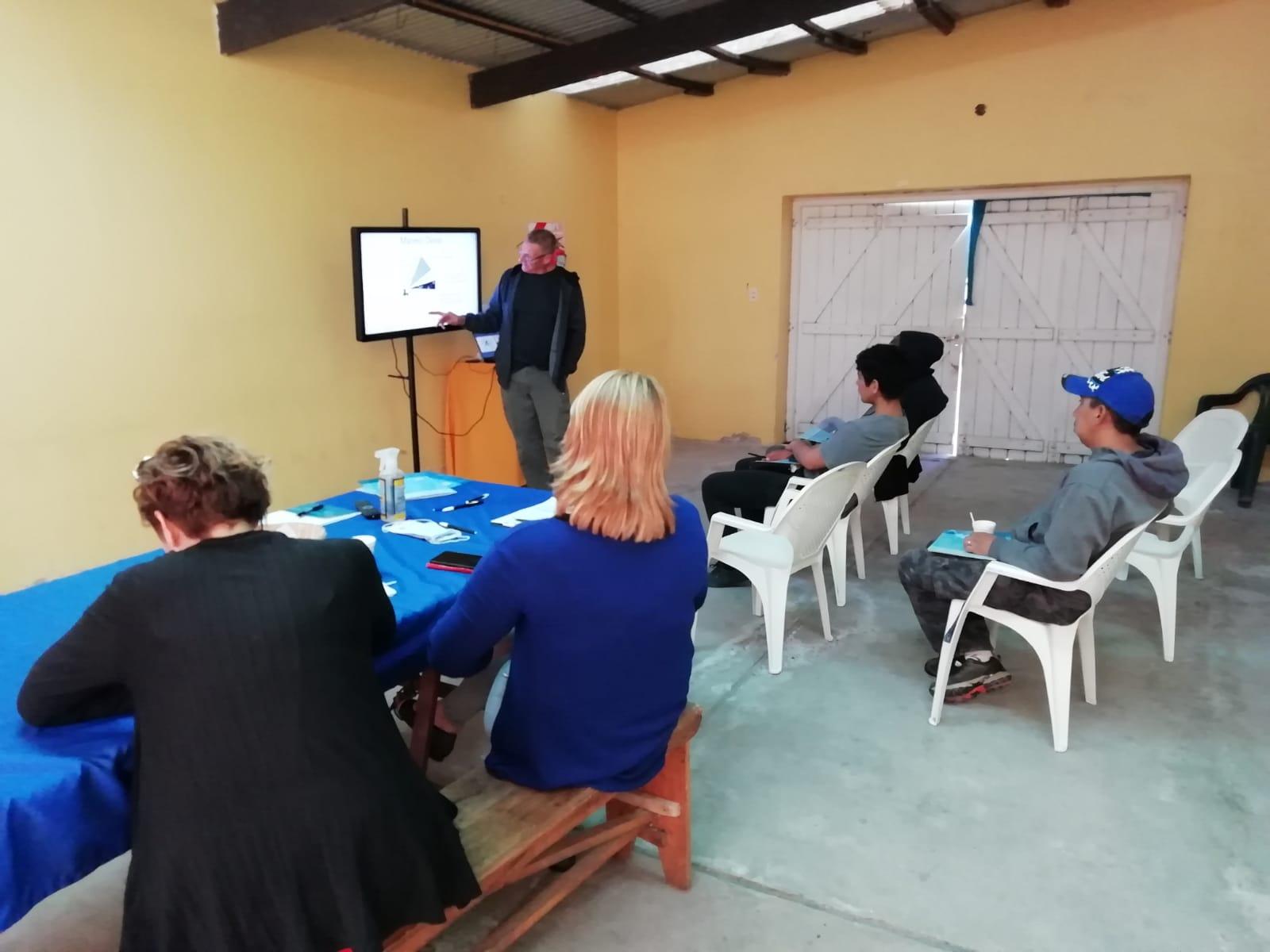 Curso de formación en oficios rurales para jóvenes en Gaiman