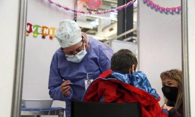 Vacunación a menores en Chubut